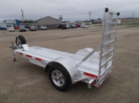 Enclosed Motorcycle Trailer Pull Behind Tote - CYCLE 51A