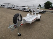 Enclosed Motorcycle Trailer Pull Behind Tote - CYCLE 51B