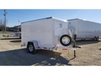 Dual Line Enclosed Cargo Trailers - DLENC 18A