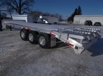 Bumper Pull Heavy Equipment Flatbed Trailers - BPF 49