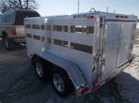 Dual Line Small Livestock Trailers - DL 33B