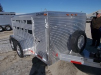 Dual Line Small Livestock Trailers - DL 33A
