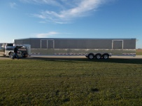 Gooseneck Automotive All Aluminum Enclosed Trailers - GNA 39A