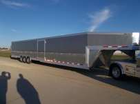 Gooseneck Automotive All Aluminum Enclosed Trailers - GNA 39B
