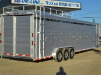 Commercial Double Deck Livestock Trailers - GNDD 49A