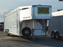 Commercial Double Deck Livestock Trailers - GNDD 49B
