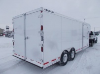 Gooseneck Enclosed Cargo Trailers - GNDF 77A