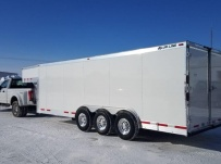 Gooseneck Enclosed Cargo Trailers - GNDF 79