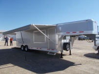 Gooseneck Enclosed Cargo Trailers - GNDF 80A