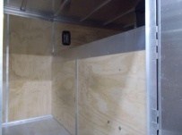 Gooseneck Enclosed Cargo Trailers - GNDF 80B