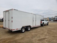Gooseneck Enclosed Cargo Trailers - GNDF 81