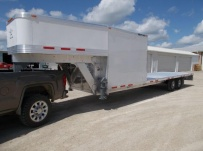 Gooseneck Enclosed Cargo Trailers - GNDF 83A