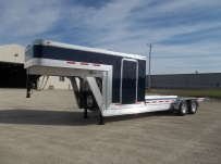 Gooseneck Enclosed Cargo Trailers - GNDF 84A