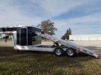 Gooseneck Enclosed Cargo Trailers - GNDF 84B