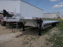 All Aluminum Gooseneck Flatbed Hotshot Trailers - GNF 114A