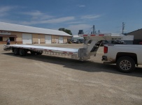 Gooseneck Heavy Equipment Flatbed Trailers - GNF 115C