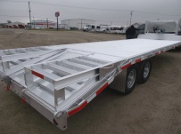 Gooseneck Heavy Equipment Flatbed Trailers - GNF 119