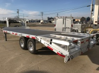 Gooseneck Heavy Equipment Flatbed Trailers - GNF 121