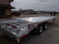 Gooseneck Heavy Equipment Flatbed Trailers - GNF 128