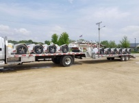 Gooseneck Heavy Equipment Flatbed Trailers - GNF 129