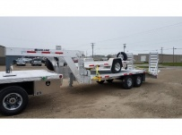 Gooseneck Heavy Equipment Flatbed Trailers - GNF 130