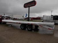 Gooseneck Heavy Equipment Flatbed Trailers - GNF 131A