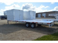 Gooseneck Heavy Equipment Flatbed Trailers - GNF 132A