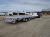 Gooseneck Heavy Equipment Flatbed Trailers - GNF 133A