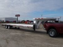 Gooseneck Heavy Equipment Flatbed Trailers - GNF 133C