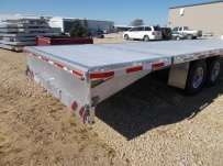 Gooseneck Heavy Equipment Flatbed Trailers - GNF 134A