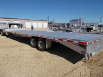Gooseneck Heavy Equipment Flatbed Trailers - GNF 134B
