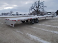 Gooseneck Heavy Equipment Flatbed Trailers - GNF 136B