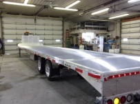 Gooseneck Heavy Equipment Flatbed Trailers - GNF 137B