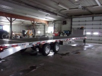 Gooseneck Heavy Equipment Flatbed Trailers - GNF 137D