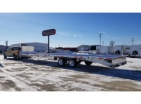 Gooseneck Heavy Equipment Flatbed Trailers - GNF 137E