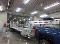 Gooseneck Heavy Equipment Flatbed Trailers - GNF 138A
