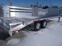 Gooseneck Heavy Equipment Flatbed Trailers - GNF 140