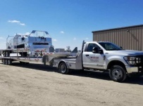 Gooseneck Heavy Equipment Flatbed Trailers - GNF 141A