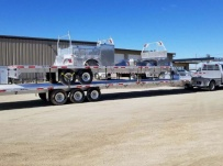Gooseneck Heavy Equipment Flatbed Trailers - GNF 141B