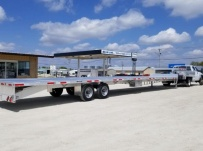 All Aluminum Gooseneck Flatbed Hotshot Trailers - GNF 142A