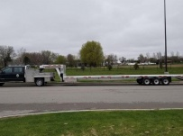 Gooseneck Heavy Equipment Flatbed Trailers - GNF 143