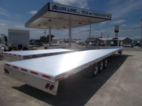 Gooseneck Heavy Equipment Flatbed Trailers - GNF 146B
