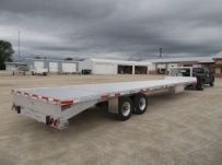 Gooseneck Heavy Equipment Flatbed Trailers - GNF 147A