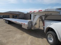 Gooseneck Heavy Equipment Flatbed Trailers - GNF 148A