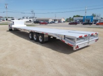 Gooseneck Heavy Equipment Flatbed Trailers - GNF 148B