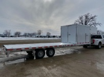 Gooseneck Heavy Equipment Flatbed Trailers - GNF 151B