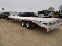 Gooseneck Heavy Equipment Flatbed Trailers - GNF 152