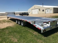 Gooseneck Heavy Equipment Flatbed Trailers - GNF 153B