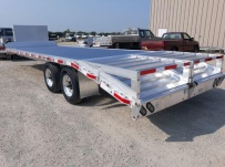 Gooseneck Heavy Equipment Flatbed Trailers - GNF 154