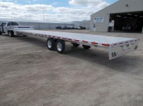 All Aluminum Gooseneck Flatbed Hotshot Trailers - GNF 155A